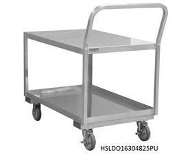 LOW DECK SERVICE CART